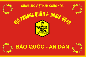 South Vietnamese Regional Force - ARVN-RFPF Flag.
