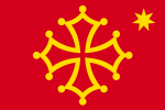 Flag of Occitania (with star).svg