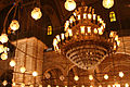 Flickr - DavidDennisPhotos.com - Lights in Alabaster Mosque of Mohamed Ali in Cairo.jpg