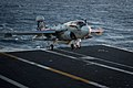 Flickr - Official U.S. Navy Imagery - An EA-6B Prowler lands aboard USS Nimitz..jpg