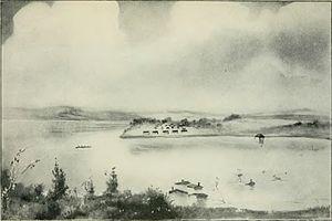 Des Moines, Iowa - Flood of Des Moines, 1851