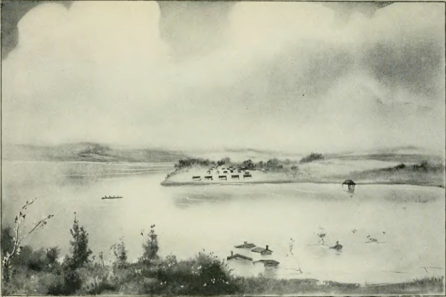 Flood at Fort Des Moines in 1851 - History of Iowa