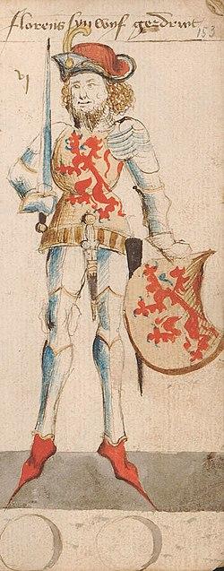Floris I, Count of Holland, by Hendrik van Heessel.jpg