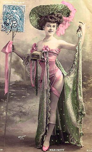 Folies Bergère - Costume, c. 1900