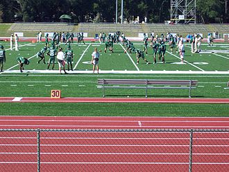 Jacksonville University - Dolphins football team at practice