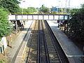 Footbridge, Capenhurst railway station - DSC06399.JPG