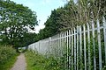 Footpath behind Southcote - geograph.org.uk - 847535.jpg