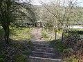 Footpath from Birchen Edge meets the B6050 - geograph.org.uk - 762876.jpg