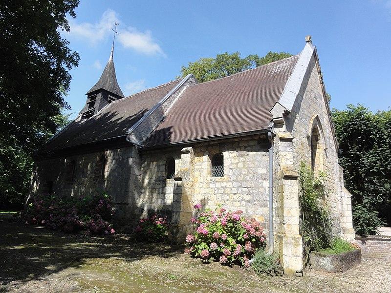 Foreste (Aisne) Chapelle Saint-Nicolas (Auroir)