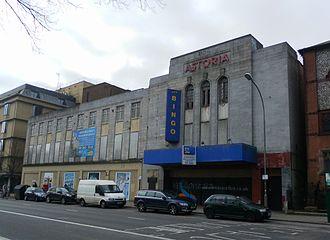 Astoria Theatre, Brighton - Image: Former Astoria Theatre, Gloucester Place, Brighton (March 2013, from Northeast)