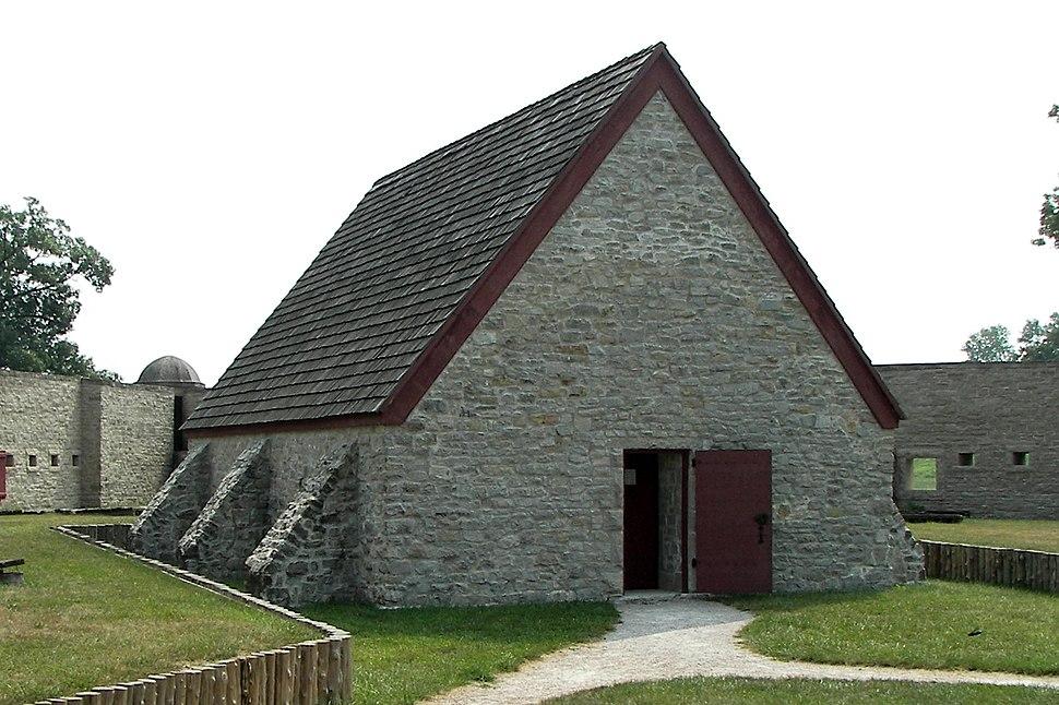 Fort de Chartres powder magazine 1-02Aug07
