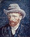 Foto van een zelfportret van Vincent van Gogh, Bestanddeelnr 255-9143.jpg
