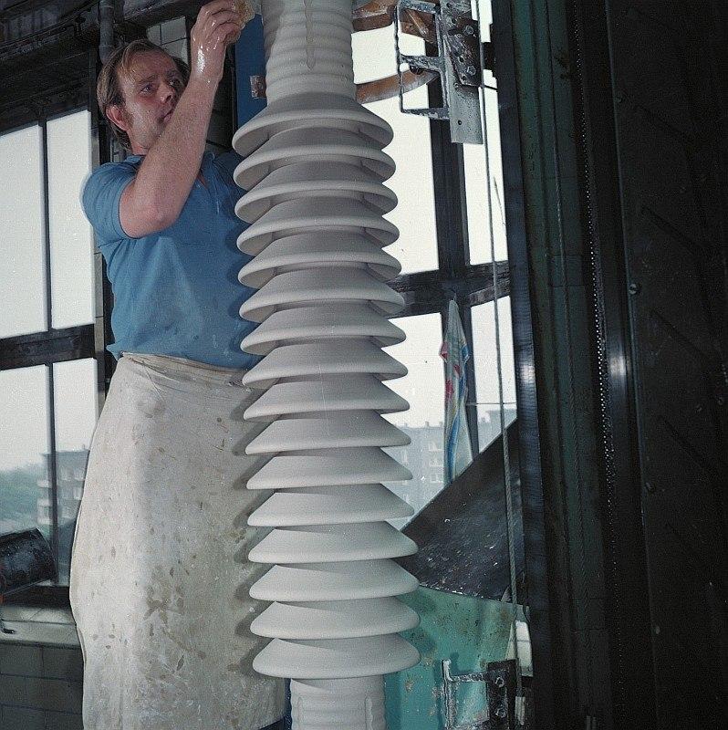 Fotothek df n-15 0000283 Facharbeiter f%C3%BCr Sintererzeugnisse