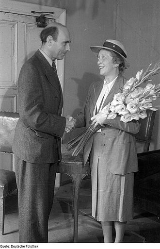 Gustav von Wangenheim - Gustav von Wangenheim with Käthe Dorsch