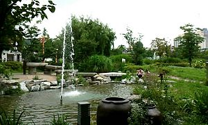 Fountain in Bupyeong park (부평공원).jpg