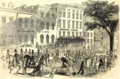 Fourth of July Procession Passing Brougham's Lyceum, Broadway, New York.tiff