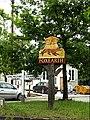 Foxearth Village sign (geograph 4039307).jpg