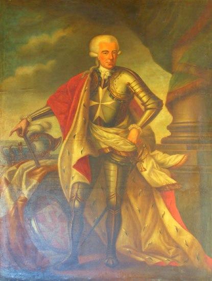 Fra Ferdinand von Hompesch G.M. Palace