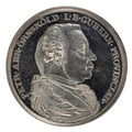 Framsida av medalj med Per Abraham Örnsköld i profil - Skoklosters slott - 99426.tif