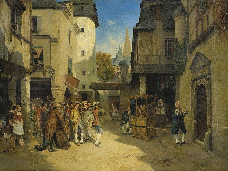 Datei:François-Adolphe Grison The Serenade.jpg