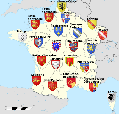 France-Regions et blasons.svg