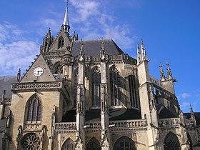 L'église Notre-Dame-des-Marais.