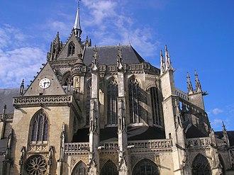 La Ferté-Bernard - The church of Notre-Dame des Marais