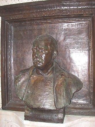 Richard E. Brooks - Image: Francis Amasa Walker, by Richard E. Brooks, Sr., Boston Public Library