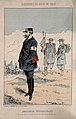 Franco-Prussian War; caricature of international ambulanceme Wellcome V0015478ER.jpg