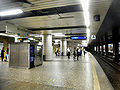 Frankfurt- Bahnhof Konstablerwache- auf Bahnsteig zu Gleis 3 13.8.2009.JPG