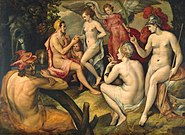 Frans Floris - The Judgment of Paris - WGA7946