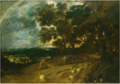 Frans Wouters - Landscape with a Rainbow.tiff
