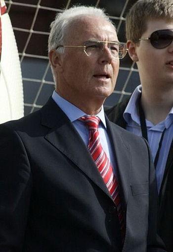 Franz Beckenbauer in Moscow