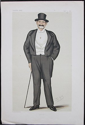 Frederick Gustavus Burnaby - Vanity Fair caricature, 2 December 1876