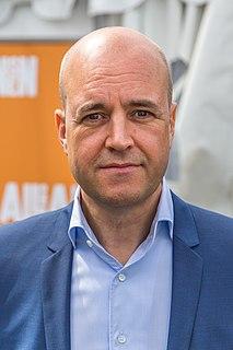 Fredrik Reinfeldt 32nd Prime Minister of Sweden