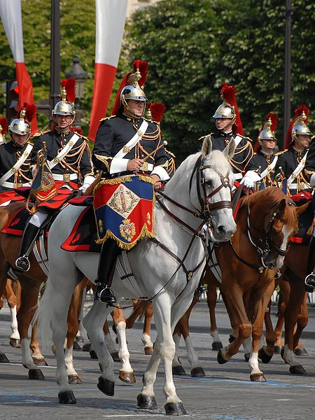 Fichier:French Republican Guard Bastille Day 2007 n3.jpg