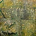 Fukui city center area Aerial photograph.1975.jpg