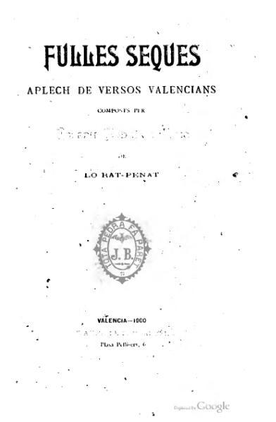 File:Fulles seques (1900).djvu
