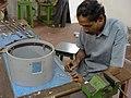 Fun Science Exhibits Fabrication - CRTL Workshop - NCSM - Kolkata 2003-09-06 00145.JPG