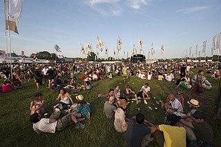 Glastonbury Festival 2010 edition of annual music festival