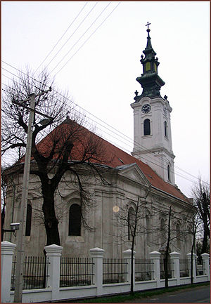 Futog - Serbian Orthodox church