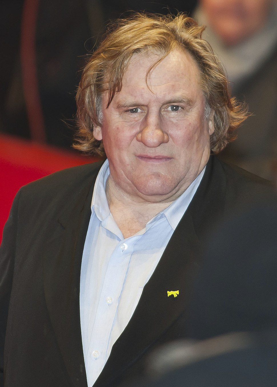 Gérard Depardieu - Howling Pixel