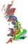 Geological map of the UK