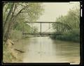 GENERAL VIEW LOOKING EAST - Milk River Bridge at Coberg, Spanning Milk River, Coburg, Blaine County, MT HAER MONT,3-COBU,1-12 (CT).tif