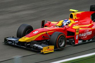 Fabio Leimer - Leimer drove for the Racing Engineering team during his title-winning 2013 season.