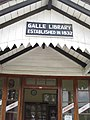Galle Library signage (7567629464).jpg