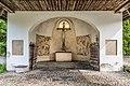 Gallizien Friedhofskapelle Kruzifix und Kriegerdenkmal 09052018 3205.jpg