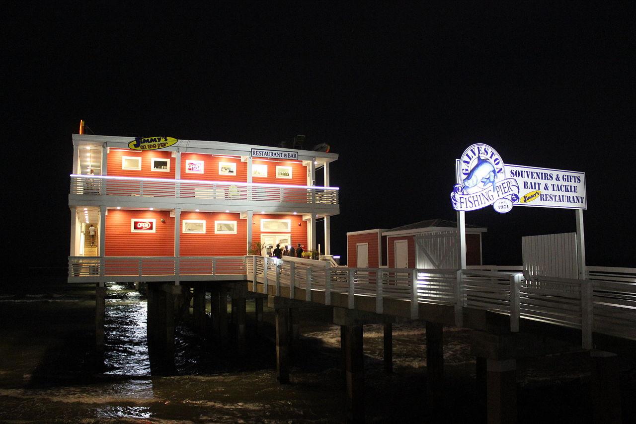 File galveston fishing pier galveston tx july for Galveston pier fishing