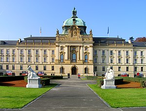 Politics of the Czech Republic - Straka Academy, the seat of Cabinet in Prague, the Czech Republic capital.