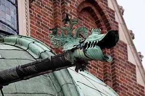 Gargoyle - Gargoyle of Waza Chapel, Wawel Cathedral
